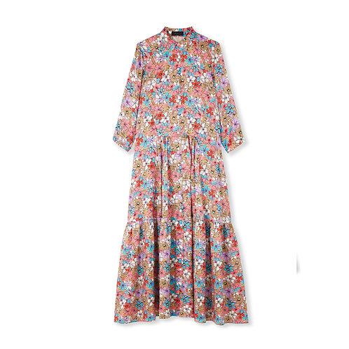 Jessica Russell Flint Shirt Dress Iced Florals