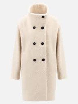 Harris Wharf Funnel collar coat