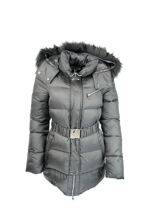 Patrizia Pepe Down Jacket with Hood