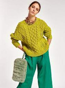Essentiel Antwerp Agatti Cable Stitch Sweater