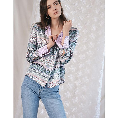 Jessica Russell Flint Blazer Shirt Wilde Border