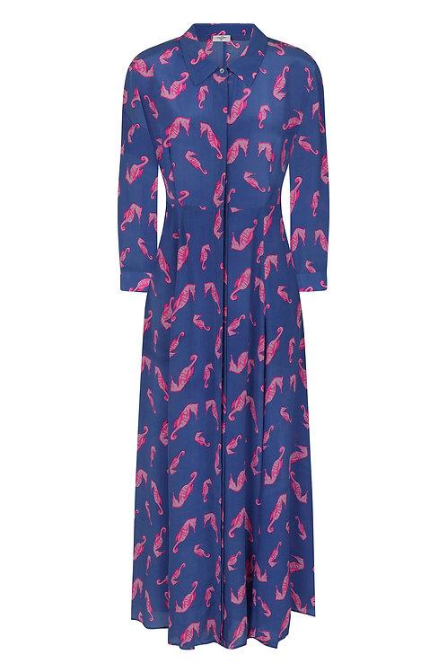 Mercy Delta Rosedene Silk Seahorse Dress