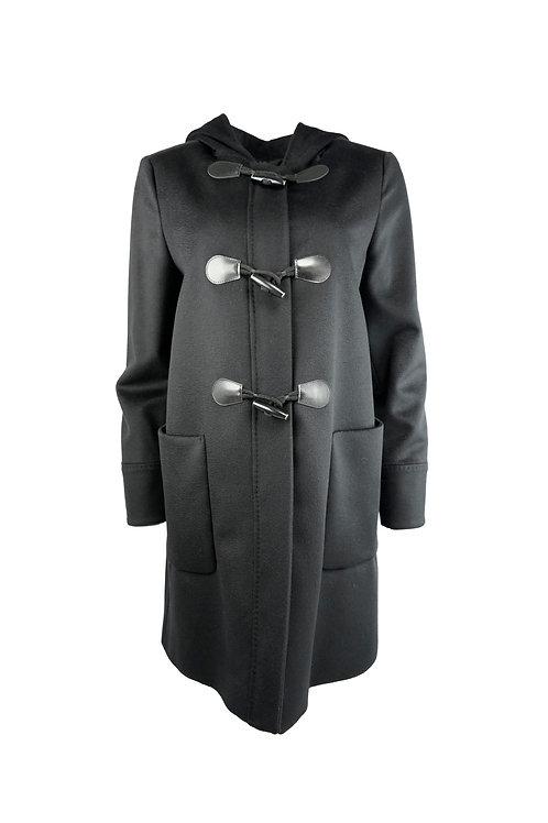 Max Mara Studio Crusca Wool Overcoat