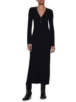 Frame Long Rib Dress
