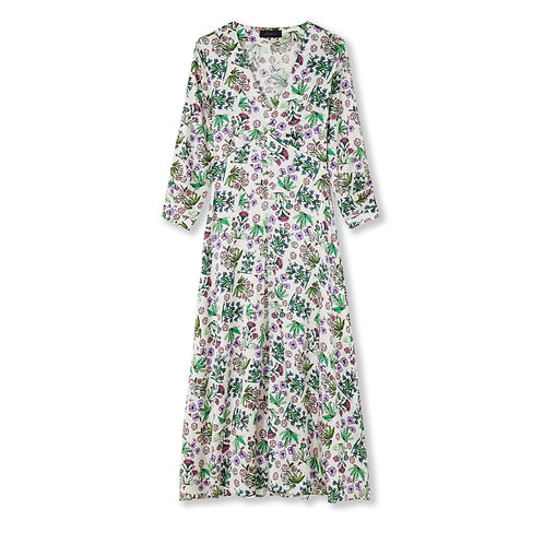 Jessica Russell Flint Button Tea Dress Celia's Garden
