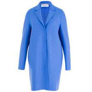 Harris Wharf Cocoon coat pressed wool