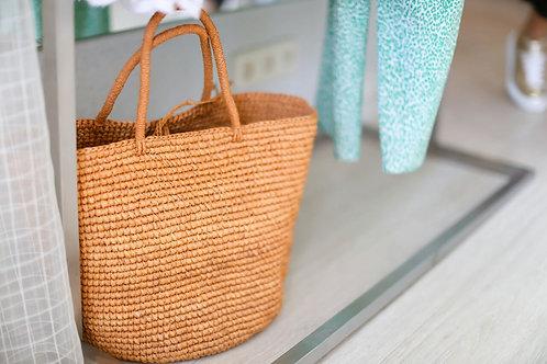 Соломенные сумки ручной работы