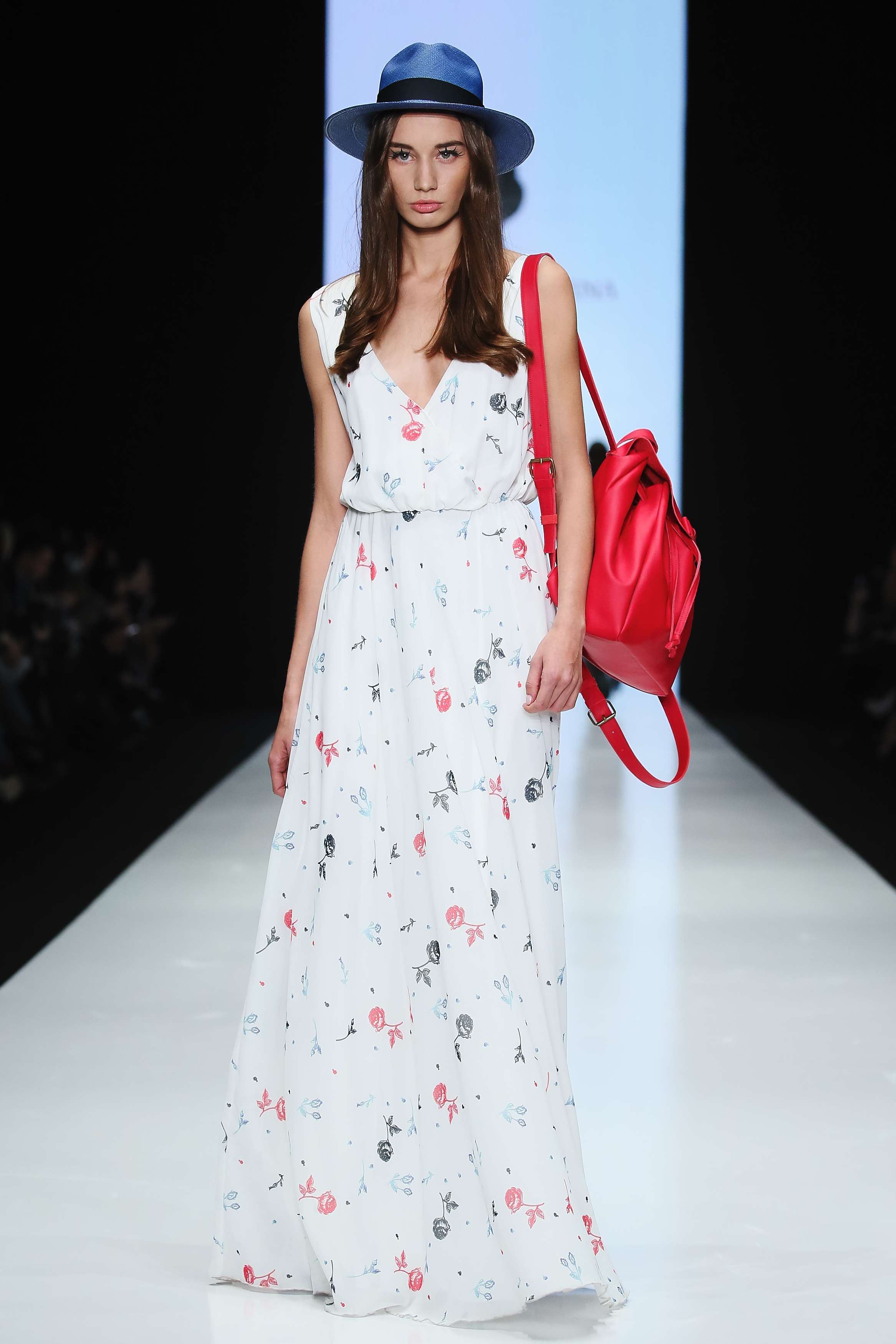 Показ Bella Potemkina Spring-Summer 2016 в рамках Mercedes-Benz Fashion Week Russia.