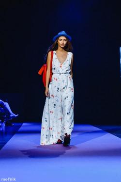 Показ Bella Potemkina Spring-Summer 2016 в рамках Mercedes-Benz Fashion Week Russia.
