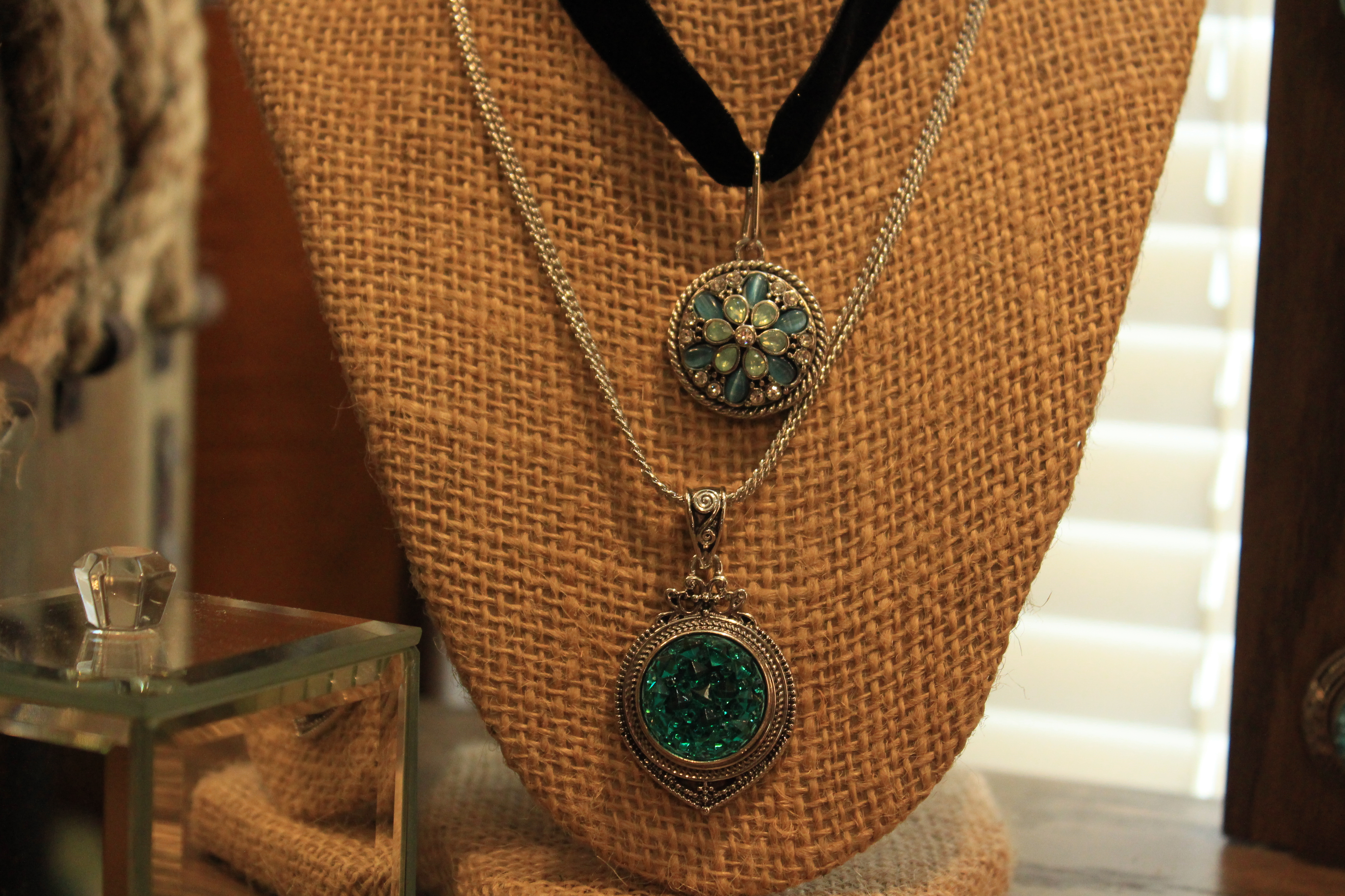 A GingerSnap necklace at Buckets