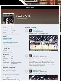 What Your Profile Will Look Like