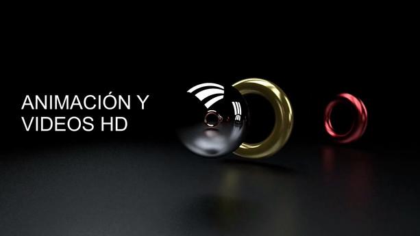 ANIMACION Y VIDEOS HD