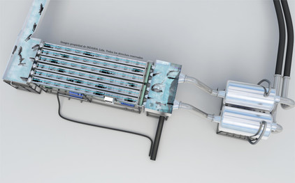 5 - Modelo 3D Sistema Shock Out