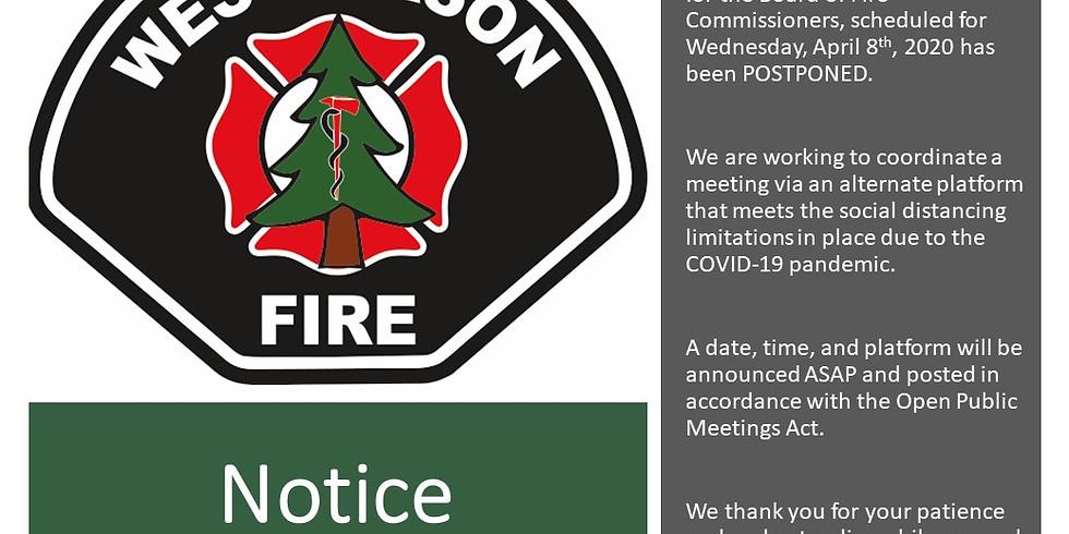 ONLINE Commissioner Meeting