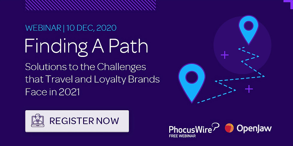 Finding a path - solutions to challenges that travel brands face in 2021