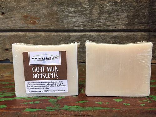 NonScents Goat Milk Soap