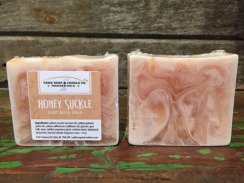 Honey Suckle Goat Milk Soap