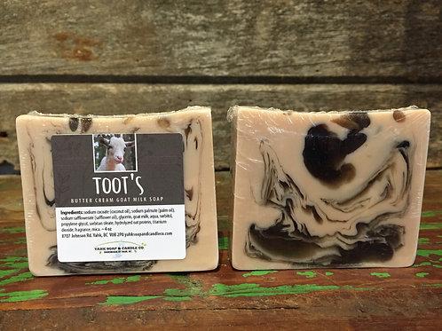 Toot's Butter Cream Goat Milk Soap