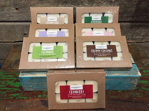 Soy Tea lights - 6 pack