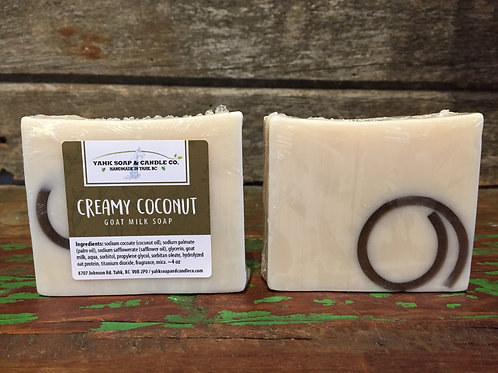 Creamy Coconut Goat Milk Soap