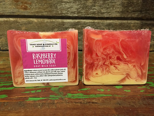 Raspberry Lemonade Goat Milk Soap