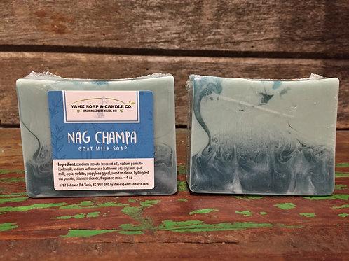 Nag Champa Goat Milk Soap