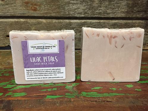 Lilac Petals Goat Milk Soap