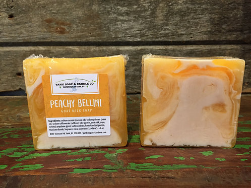 Peachy Bellini  Goat Milk Soap