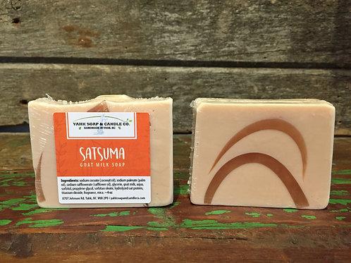 Satsuma Goat Milk Soap