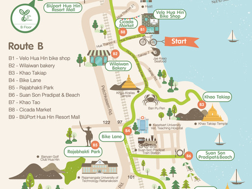 Green Bike - Ride Hua Hin: Route B