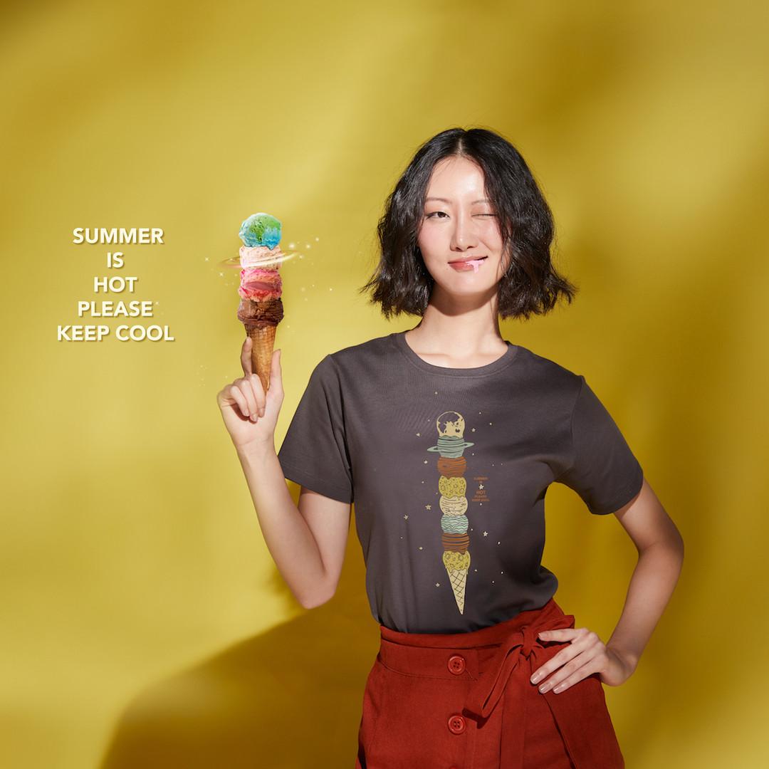 Ice Cream Solar (T-shirt) - Thailand Original