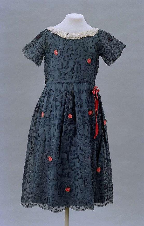 39d3caacb3 Above image  1998.437a-b. Jeanne Lanvin child s dress. c1922. Silk. Museum  of Fine Arts