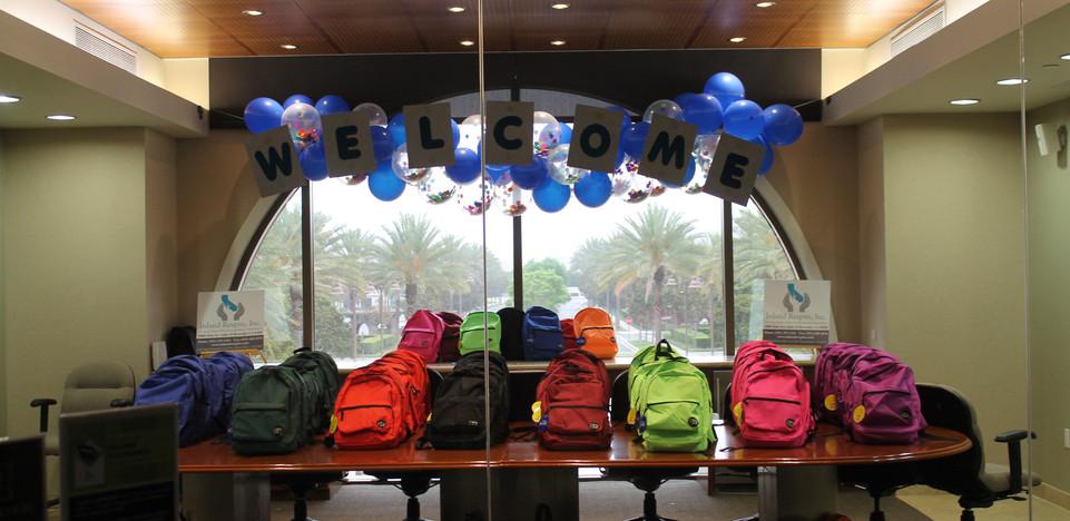 School Backpack Giveaway Event