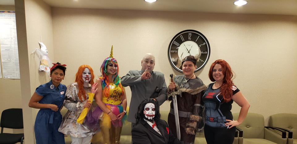 Happy Halloween from Inland Respite Team