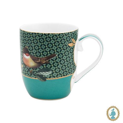 Caneca Pequena Bird Verde - Winter Wonderland - Pip Studio