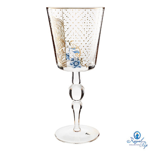 Cálice para Vinho Golden Flower – Royal – PiP Studio®