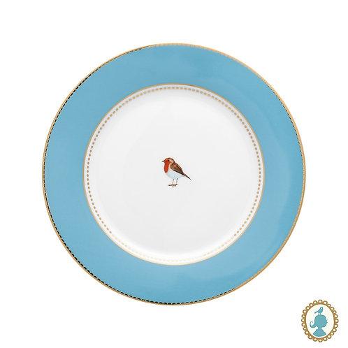 Prato de Sobremesa Azul - Love Birds - Pip Studio