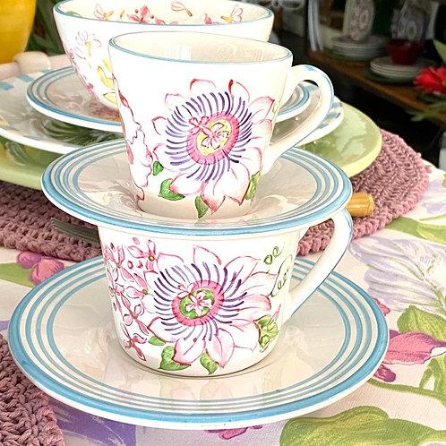 Xícaras de chá coleção Brisa