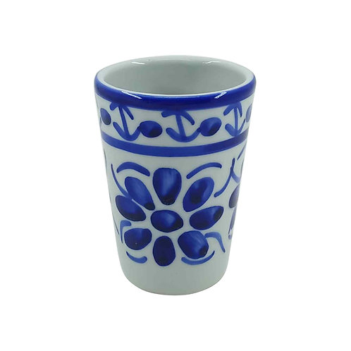 Copo de Porcelana Azul Colonial