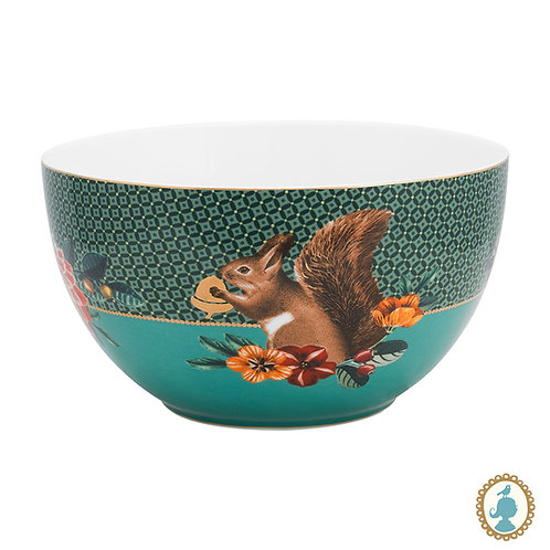 Tigela 18 Squirrel Verde - Winter Wonderland - Pip Studio