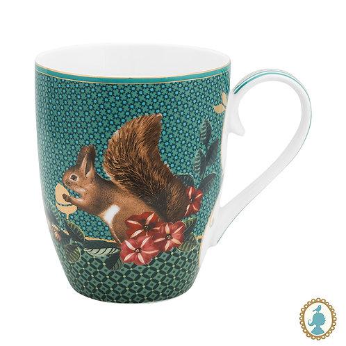 Caneca Grande Squirrel Verde - Winter Wonderland - Pip Studio