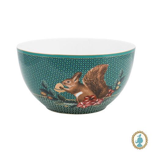 Tigela 15 Squirrel Verde - Winter Wonderland - Pip Studio