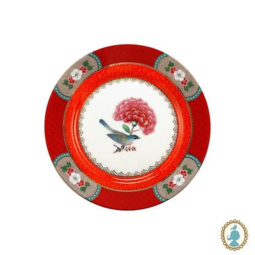 Prato de Pão Vermelho - Blushing Birds - Pip Studio