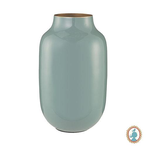 Vaso de Metal Oval Azul - Blushing Birds - Pip Studio