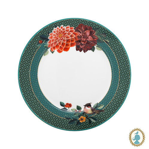 Prato de Sobremesa Big Flower Verde Winter Wonderland - Pip Studio