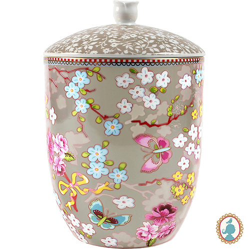 Pote C/ Tampa Chinese Caqui – Floral – PiP Studio®
