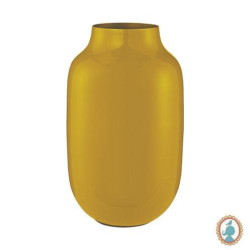 Vaso de Metal Oval Amarelo - Blushing Birds - Pip Studio