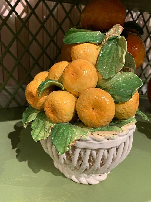 Cestinha c/ laranjas Zanatta