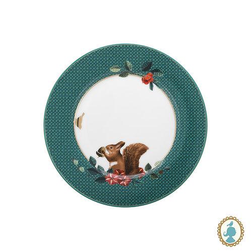 Prato de Pão Squirrel Verde - Winter Wonderland Birds - Pip Studio
