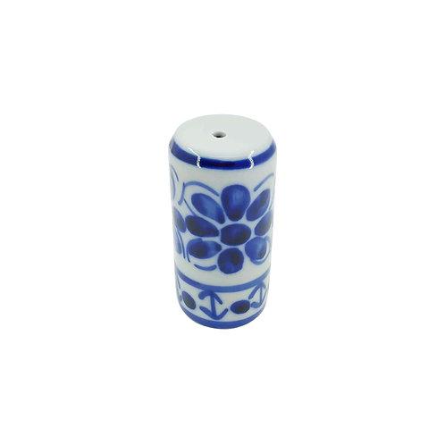 Paliteiro em Porcelana Azul Colonial